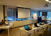 Core Spring 5 classroom at Trifork Amsterdam office.