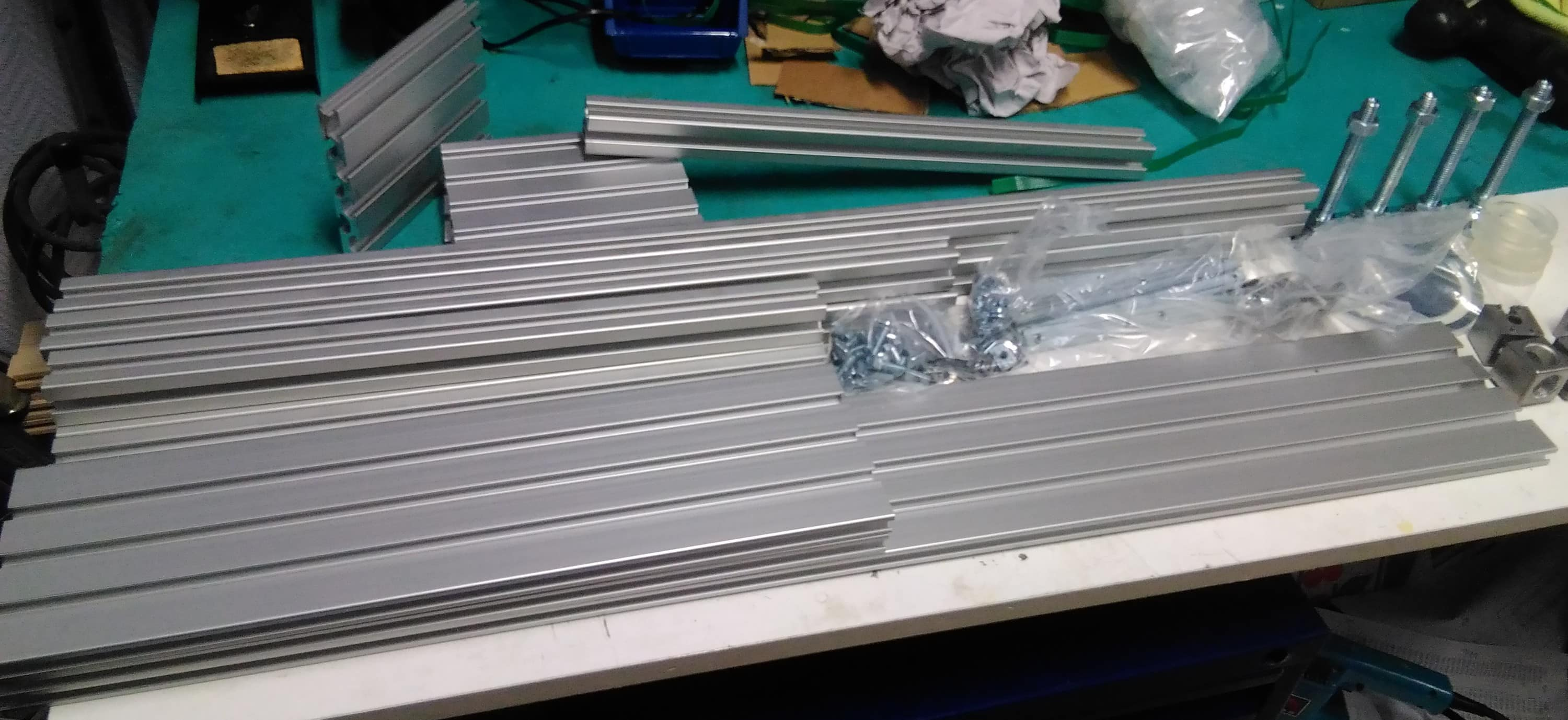 Aluminum Router Fence Build – The Blog of Ivan Krizsan